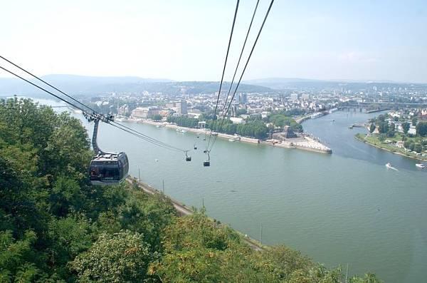 Koblenz the Deutsches Eck