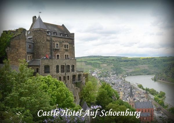 Castles to stay in Germany Schoenburg (Oberwesel)