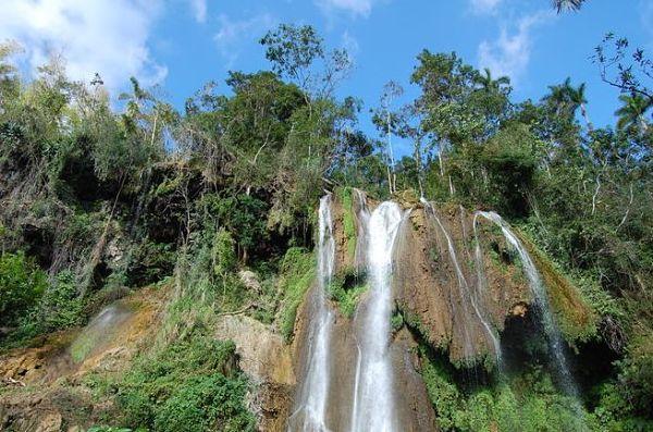 Cuba attractions El Nicho Waterfalls