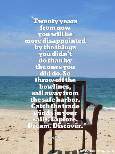 Quotes by Mark Twain About Travel