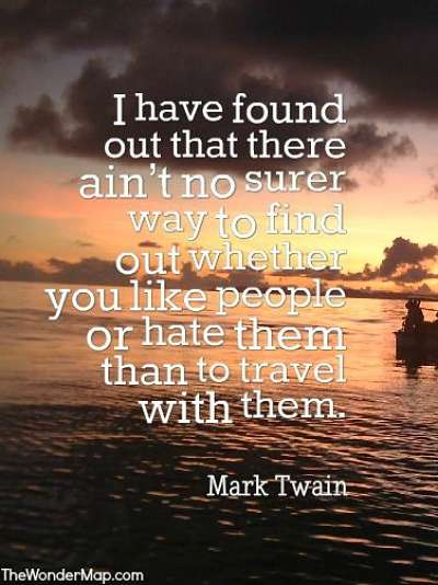 Mark Twain Quotes About Travel and the World As He Saw It ...