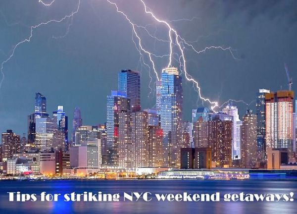 Nyc weekend getaways to break up the gray and busy days for Weekend getaway in nyc