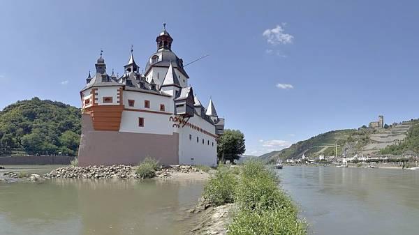 Pfalzgrafenstein Castle near Kaub Germany