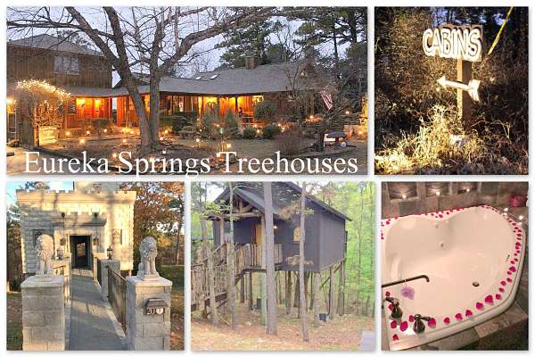 Romantic getaways in arkansas cabins waterfalls and for Places to go for romantic weekend