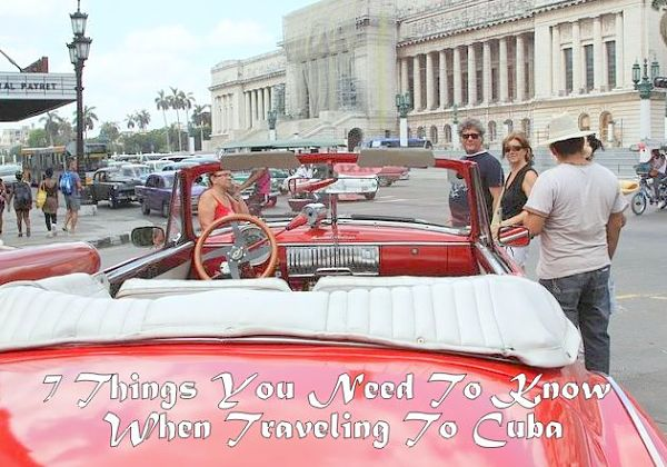 Things To Know When Traveling To Cuba